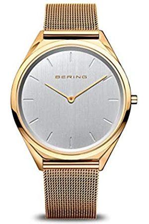 Bering BERING Unisex Analog Quarz Uhr mit Edelstahl Armband 17039-334