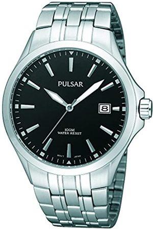 Pulsar Quarz Herren-Uhr Edelstahl mit Metallband PS9089X1