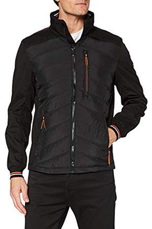 TOM TAILOR Herren Hybrid Jacke, 29999-Black