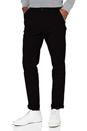 SELECTED Herren SLHSLIM-Miles Flex Chino Pants W NOOS Hose, Black