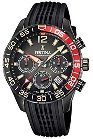 Festina Festina Herren Analog Quarz Uhr mit Silikon Armband F20518/3