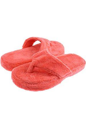 Capelli new york Capelli New York Damen Flip Flop Slipper aus Plüsch, Pink (korallenrot)