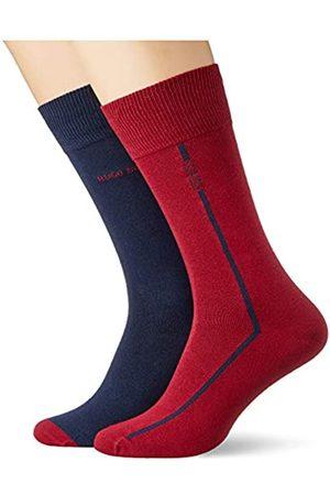HUGO BOSS Herren 2P RS Logo Stripe CC Klassische Socken