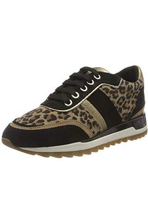 Geox Geox Damen D TABELYA A Sneaker, Tobacco/Black