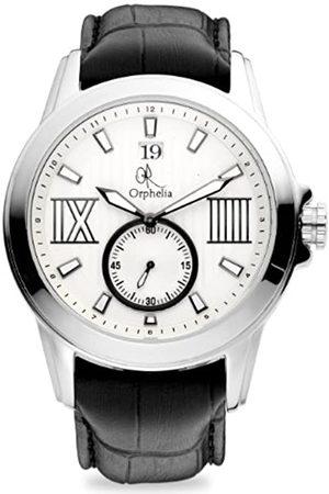 ORPHELIA Herren-Armbanduhr Luxus Analog Quarz Leder -132-6705-84