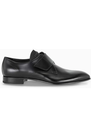 Prada Black lace up Derby shoes