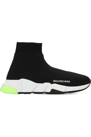 "Balenciaga 30mm Hohe Sneakers Aus Strick ""speed"""