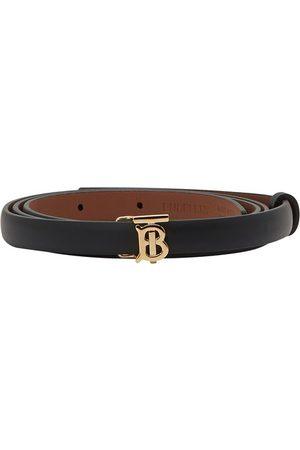 Burberry Damen Gürtel - Full-grain calfskin belt