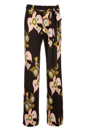 La DoubleJ Damen Hosen & Jeans - Hose mit Schlitz