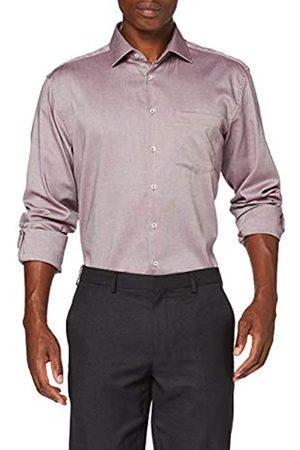 Seidensticker Herren Comfort Langarm Struktur Klassisches Hemd