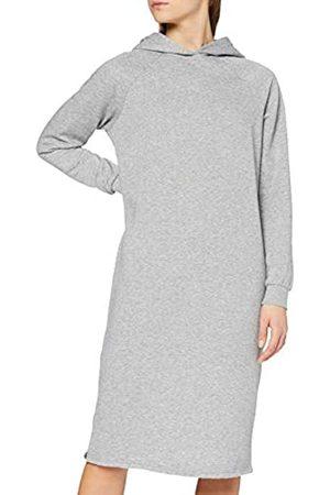 Noisy May Female Kleid Longline Sweat Llight Grey Melange