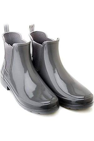 Hunter Women's Original Refined Chelsea Gloss Boot (10 US)