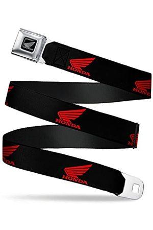 Buckle-Down Sicherheitsgurt – Honda Motorrad Logo schwarz/rot – 2