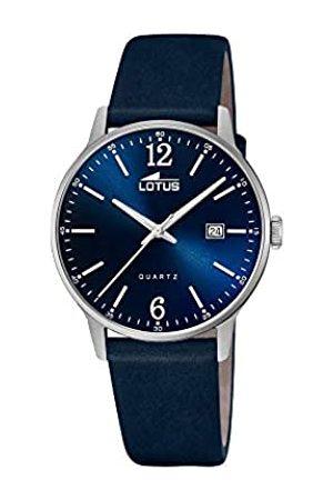 Lotus Herren Analog Quarz Uhr mit Leder Armband 18695/3