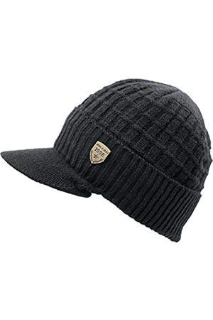 LLmoway Herren Hüte - LLmoway Wintermütze für Damen und Herren, gestrickt, mit Fleece-Futter, warm