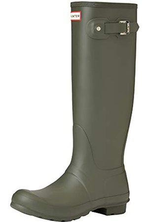 Hunter Damen High Wellington Boots Gummistiefel, (Dark Green/dov)