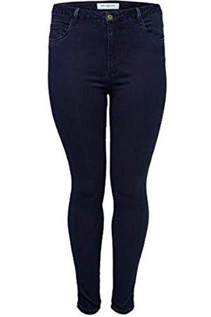 Carmakoma Female Skinny Fit Jeans Curvy Caraugusta 4234Dark Blue Denim