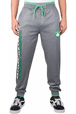 Ultra Game Herren Jogger Pants Fleece Sweatpants NBA, aktive Sprungkraft (Bounce Active), Polyfleece, Team-Logo, Jogginghose