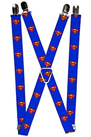 Buckle-Down Herren Suspender-Superman Strumpfhalter