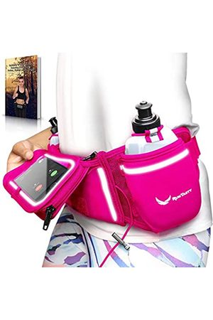 """Runtasty Hydration Belt für den Laufgürtel """"Winners' Running Fuel Belt"""", inklusive Zubehör: 2 BPA-freie Wasserflaschen und E-Books, passend für jedes iPhone, mit Touchscreen-Abdeckung, kein Hüpfen"""