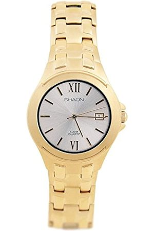 Shaon Shaon Herren Analog Quarz Uhr mit Edelstahl Armband 35-9603-82