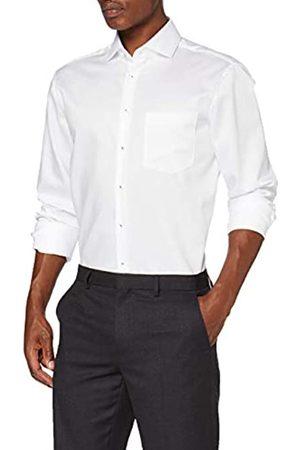 Seidensticker Herren Business Hemd - Bügelfreies Hemd mit geradem Schnitt - Regular Fit - Langarm - Kent-Kragen - Brusttasche - 100% Baumwolle
