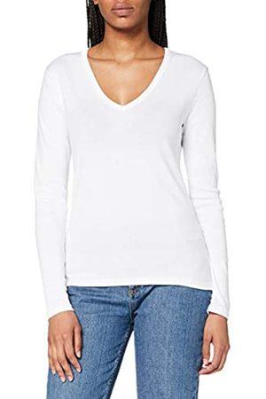 Petit Bateau Damen T-Shirt Ikonisch V-Ausschnitt Gr. L