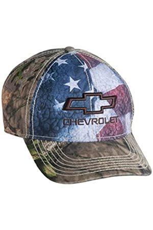 West Coast Corvette / Camaro Chevrolet Bowtie Mütze/Mütze mit USA-Flagge