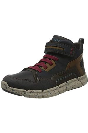 Geox Geox J FLEXYPER Boy B ABX Snow Boot, Blau (Navy Dk Red)