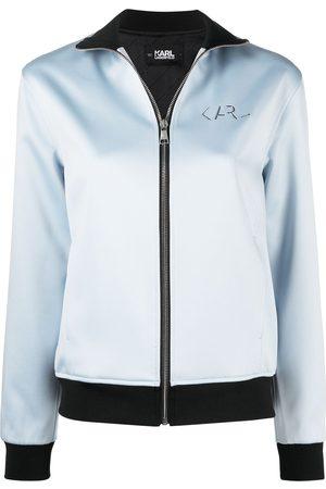 Karl Lagerfeld Damen Sommerjacken - Jacke mit Logo