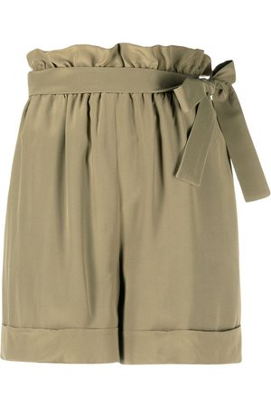 FEDERICA TOSI Belted pleated shorts