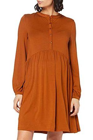 Esprit Damen Dress Nursing ls Kleid, Toffee Brown-252
