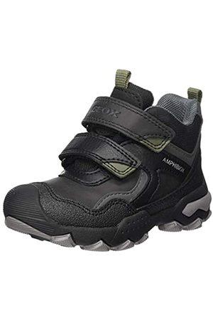 Geox Geox J Buller Boy B ABX B Rain Shoe, (Black/Military)