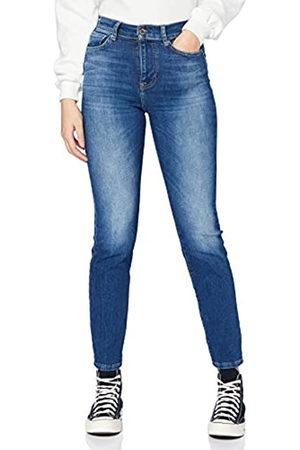 ONLY Damen ONLISABEL Life HW Slim DNM REA Jeans