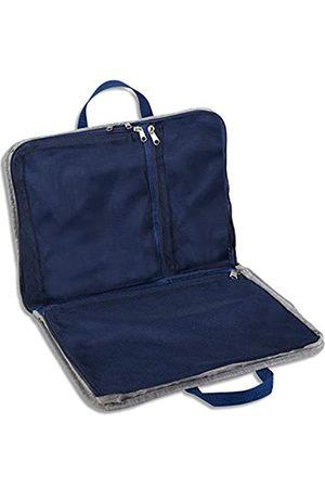 Lewis N. Clark Lewis N. Clark Packwürfel + Reise-Organizer zum Aufhängen für Gepäck, Koffer oder Handgepäck, mit intelligentem Design-Tragegriff und atmungsaktivem Netzstoff, Grau
