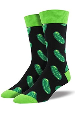 Socksmith Herren Socken Mit Bunten Lustigen Motiven Einheitsgröße (Grün