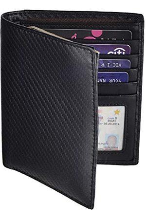 Outrip Outrip RFID-blockierende Reisepasshülle aus Leder für Damen und Herren - - Large