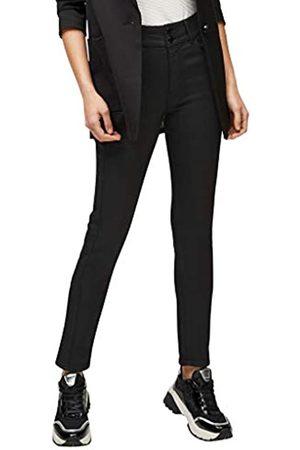 s.Oliver S.Oliver LABEL Damen Slim Fit: Jeans mit Coating 46.32