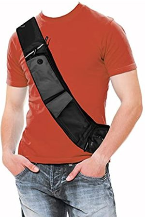 Paqlite CrossPaq – Everyday Hands-Free Ultraleicht Personal Pack Carryall Crossbody Umhängetasche (groß)