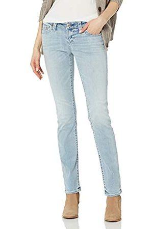 True Religion Damen Billie Big T Mid Rise Straight fit Jeans
