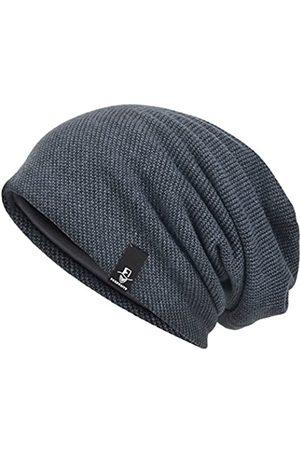 VECRY Herren Slouchy Beanie Knit Skull Cap Long Baggy Hip-Hop Winter Sommer Mütze B305 - - M/L