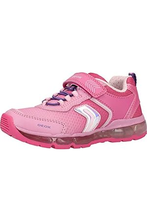 Geox Geox J Android Girl A Sneaker, Pink (Fuchsia C8002)