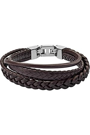 Fossil Fossil Herren Armband Brown Braided Double