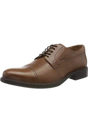 Geox Mens Uomo Carnaby Oxford, Browncotto