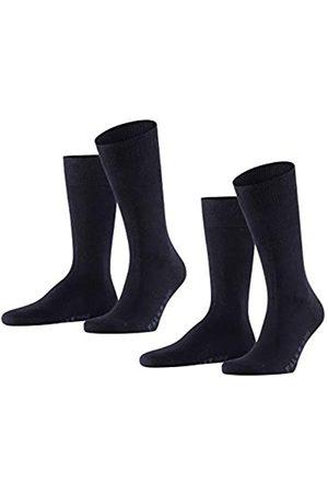 Falke Herren Swing 2-Pack M SO Socken, Blickdicht (Dark Navy 6370)