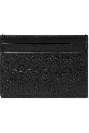 SAINT LAURENT Herren Geldbörsen & Etuis - Logo-Debossed Leather Cardholder
