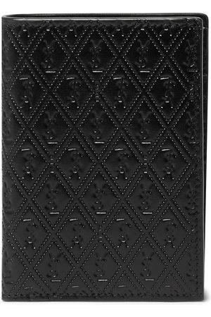 Saint Laurent Herren Geldbörsen & Etuis - Logo-Debossed Leather Bifold Wallet