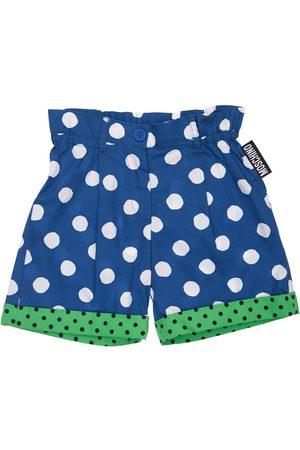 Moschino Mädchen Shorts - Bedruckte Shorts Aus Popeline