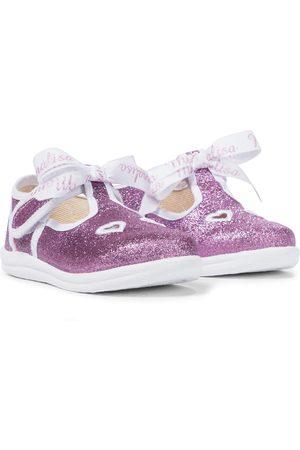 MONNALISA Ballerinas mit Glitter
