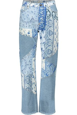 Etro High-Rise Straight Jeans